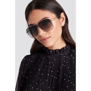 MANGO Double Sunglasses - Black