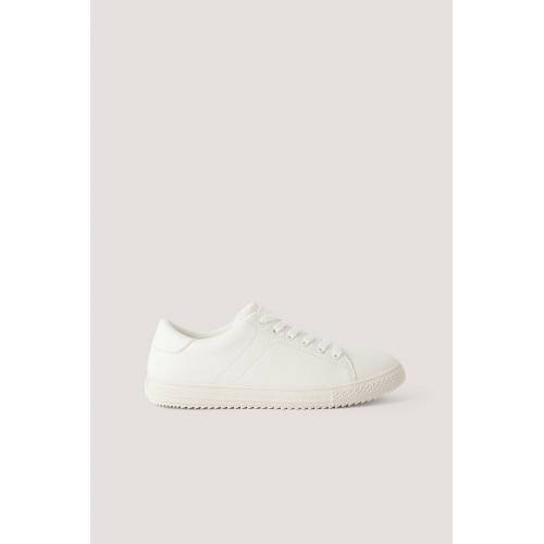 NA-KD Shoes Basic Tennissneakers - White