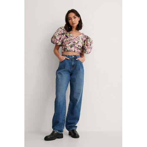 NA-KD Reborn Organisch Jeans - Blue