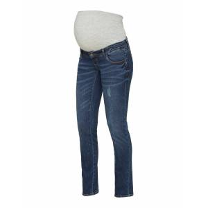 Mama Licious Straight fit jeans Denim