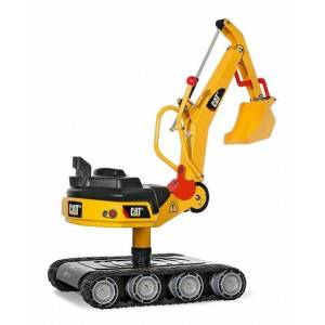 Rolly Toys graafmachine RollyDigger XL Cat junior geel  - Geel - Grootte: One Size