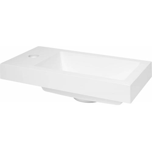 Saqu Square Fontein 40,5x22x5 cm Wit  - Wit - Grootte: One Size