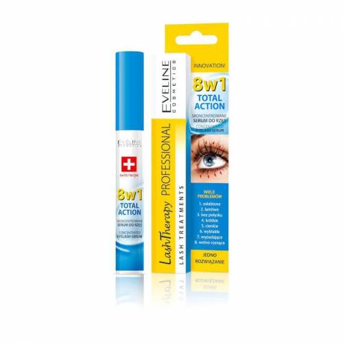 Eveline Cosmetics Lash Therapy Wimperserum 8in1 10ml.  - GeenKleur - Grootte: One Size