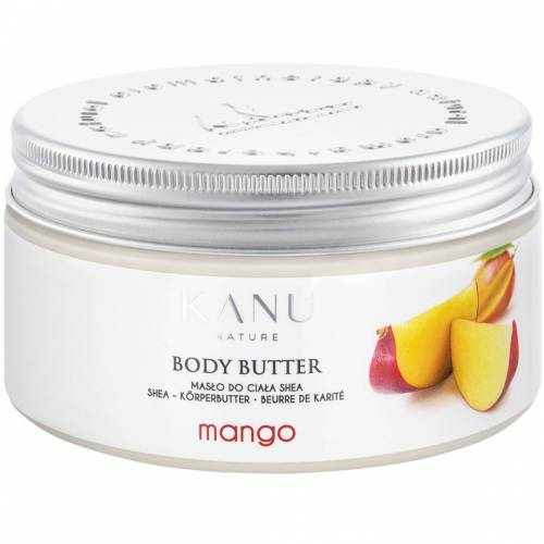 Kanu Nature Body Butter Mango lichaamsboter 190g  - No Color - Grootte: One Size