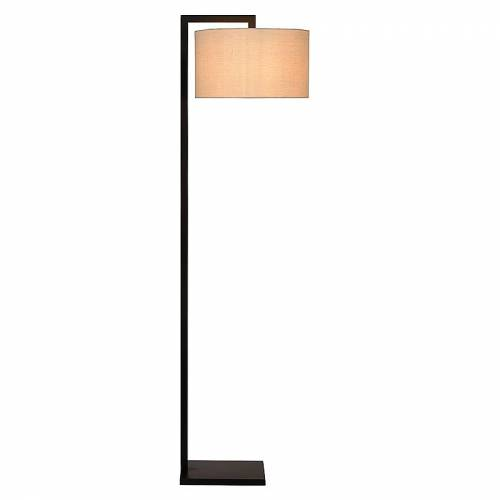 Atmooz By Charrell Vloerlamp Bolivia  - Zilver - Grootte: 42 X 38 H 158 CM