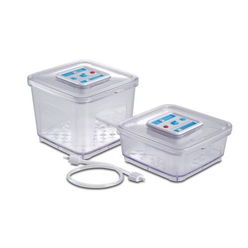 Solis Storage Container  - Transparant - Grootte: 3 bewaarcontainers