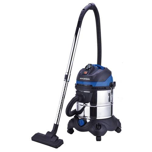 Hyundai bouwstofzuiger met stopcontact 20L 1200W / alleszuiger / industrile stofzuiger / nat/droogzuiger / waterstofzuiger  - blauw - Grootte: One Size