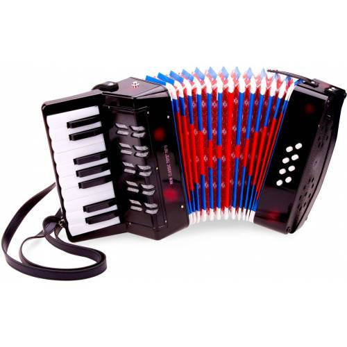 New Classic Toys Accordeon groot New Classic Toys 23x24x10 cm  - GeenKleur - Grootte: One Size