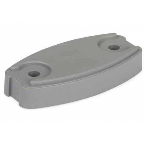 Plopp Onderlegplaat grijs Plopp v.deurvanger