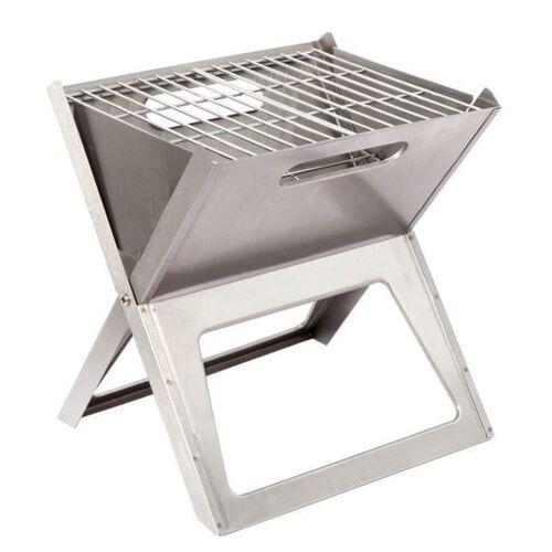 Bo-Camp Barbecue notebook-vuurkorf klein / Houtskool Barbecue