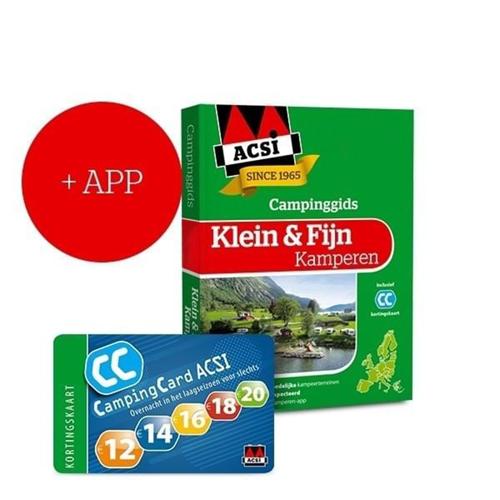 ACSI Klein & Fijn Kamperen Campinggids + App 2021