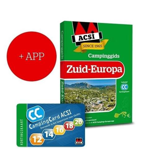ACSI Campinggids Zuid-Europa + App 2021
