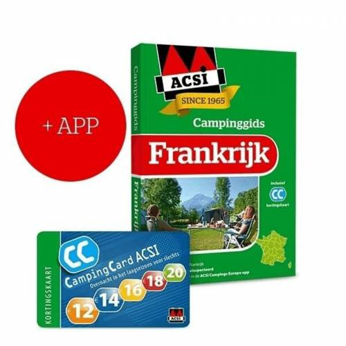 ACSI Campinggids Frankrijk + App 2021