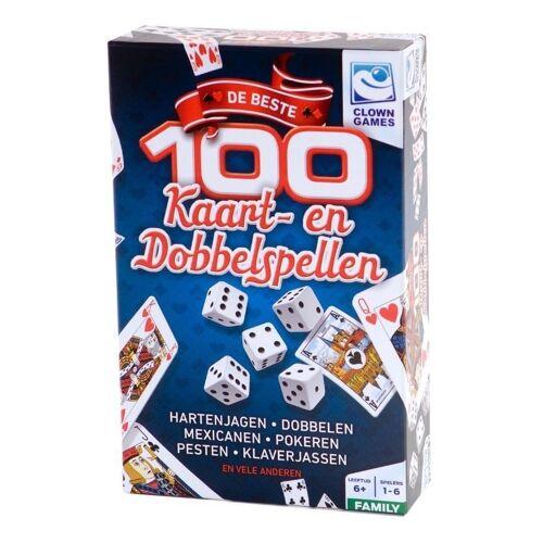 Clown 100 Kaart&Dobbel Spellen