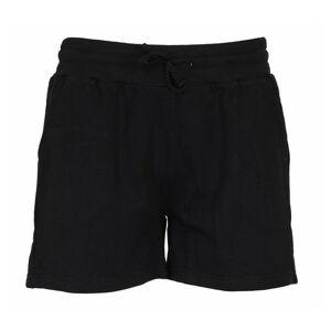 Donnay joggingshort fleece kort dames zwart maat XL