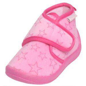 Playshoes pantoffels sterren meisjes roze maat 24/25