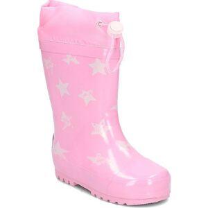 Playshoes regenlaarzen Stars maat 22/23 roze