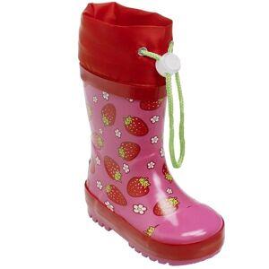 Playshoes regenlaarzen Strawberry maat 32/33 roze