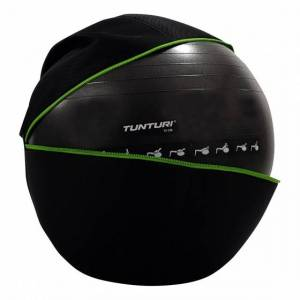 Tunturi fitnessbalhoes 75cm met groene rits