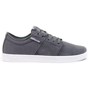 Supra sneakers Stacks heren grijs/wit maat 36