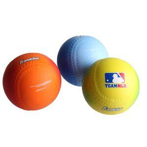 Franklin honkballen Soft Foam Balls 8 cm junior 3 stuks
