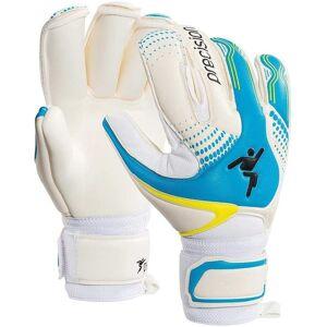Precision keepershandschoenen Fusion X dames latex wit/blauw mt 5