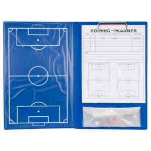 Rucanor coachmap voetbal magnetisch 36 cm blauw