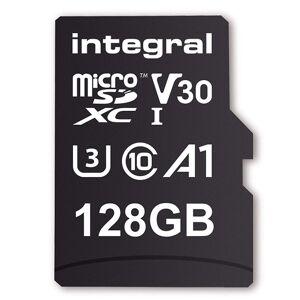 Integral 128GB V30 UltimaPro microSDXC UHS-I U3 + SD-Adapter