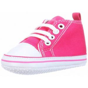 Playshoes babyschoenen Canvas meisjes roze maat 18