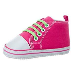 Playshoes babyschoenen Sneaker meisjes roze maat 17