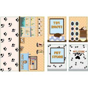 iWallz decoratiestickers Pet Store 6 delig