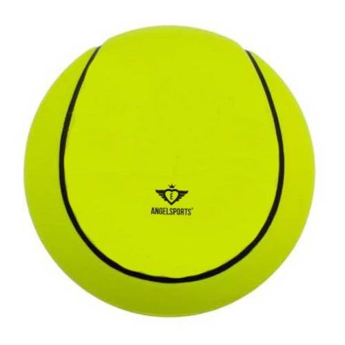 Angel Sports tennisbal zacht 12,5 cm geel