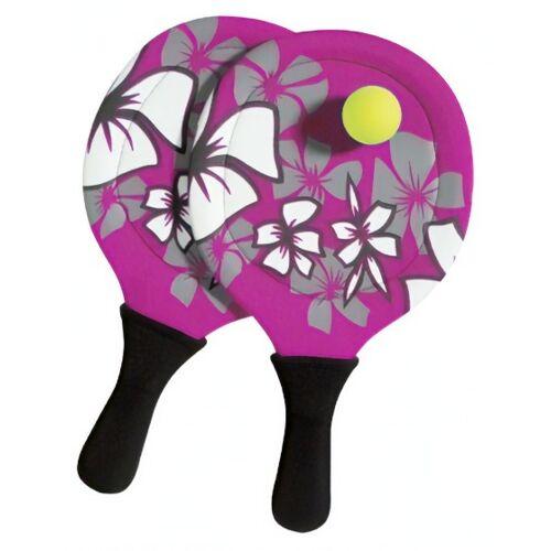 Beco tennisset roze 3 delig 38 cm