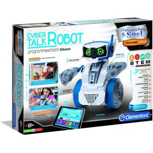 Clementoni robot Cyber Talk programmeerbaar