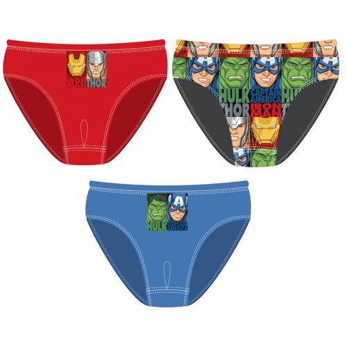 Marvel onderbroeken Avengers junior textiel 3 delig maat 4 5