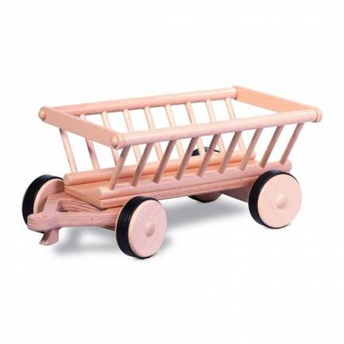 Nic houten hooiwagen 38 x 18 x 16 cm