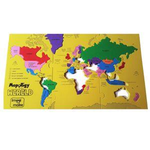 Imagimake foam puzzle grootste landen van de wereld