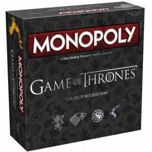 Hasbro Monopoly Collector's Edition Game of Thrones