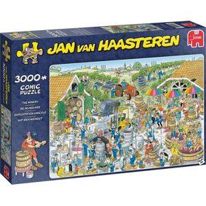 Jumbo legpuzzel Jan van Haasteren De Wijnmakerij 3000 stukjes