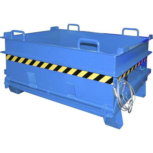 EUROKRAFTpro Container voor bouwmaterialen BC, met ontgrendeling voor steenklem, b x h = 1305 x 700 mm EUROKRAFTpro