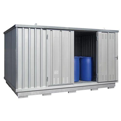 Container voor gevaarlijke stoffen voor de actieve opslag van ontvlambare stoffen, uitwendige h x b x d = 2400 x 4075 x 2875 mm
