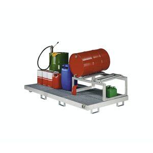 EUROKRAFTpro Stalen opvangbak, l x b x h = 800 x 800 x 545 mm EUROKRAFTpro