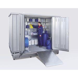 Gevaarlijke stoffen container voor de passieve opslag van ontvlambare stoffen, uitwendige h x b x d = 2570 x 6075 x 2875 mm