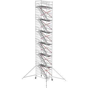Altrex Trappenrolsteiger RS TOWER 53, Fiber-Deck®-platform 2,45 x 1,35 m Altrex