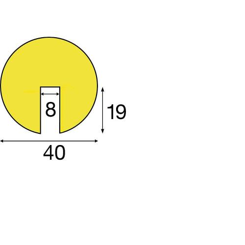 SHG Knuffi®-randbescherming, type B, 1 rol à 5 m SHG