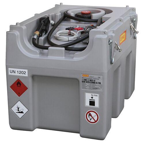 CEMO DT-Mobil Easy tankinstallatie voor diesel, inhoud 460 l, met elektrische pomp 12 V, 40 l/min CEMO