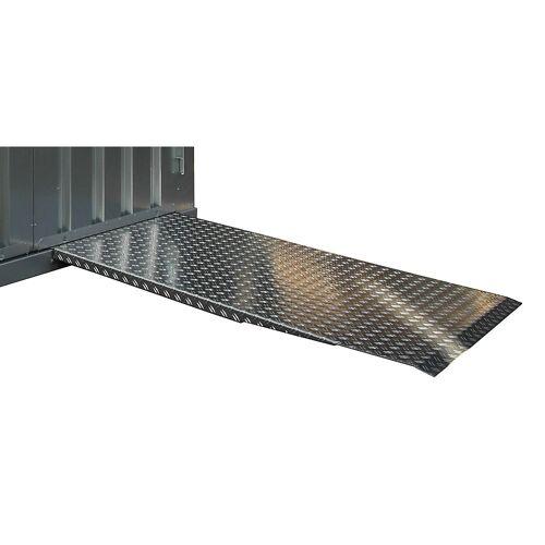Oprijplaat, van antislip aluminium duoplaat