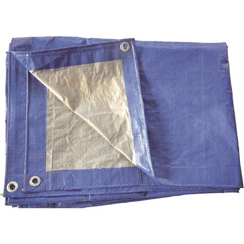 Stoffen dekzeil, blauw, 170 g/m²