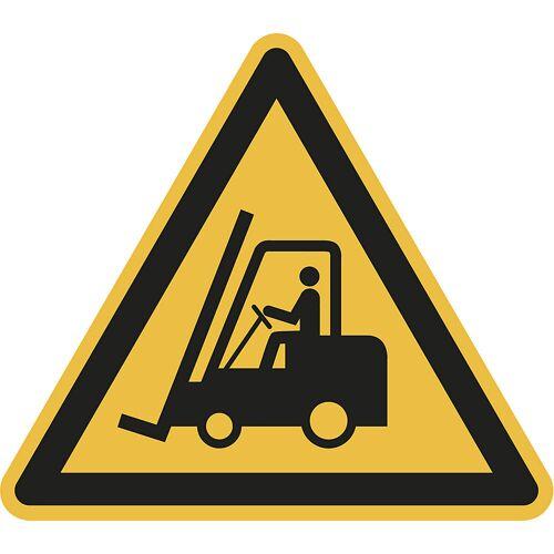 Waarschuwingsbord, waarschuwing voor transportwerktuigen, VE = 10 stuks