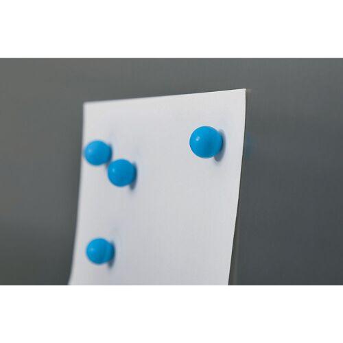 MAUL Neodymium silicone kogelmagneet, Ø 12 mm, VE = 16 stuks MAUL